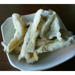 お客様が釣ったお魚🌊🐟三浦海岸おすすめ食材🌊🐟シロギスの天ぷら