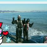 12月❄週末のkauwela(*´∀`*)ノ❄三浦海岸❄ジェットスキーツーリング❄無敵のドライスーツ🎵(^^)/❤