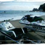 先週・先々週のkauwela🌺三浦海岸🌺ジェットスキー🌺シーズンオフでも海遊び🌺kauwela📷photo✨