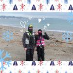 週末のkauwela♥️天気が良い日は三浦海岸ヘGo🎵冬でもジェットスキー❄